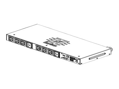 Raritan PDU 208V 24A 1-phase 1U, PX2-4201R, 17910502, Power Distribution Units