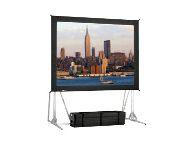 Da-Lite Fast-Fold Truss Frame Projection Screen, Da-Tex, 16:9, 10' x 17', 87295, 15477055, Projector Screens