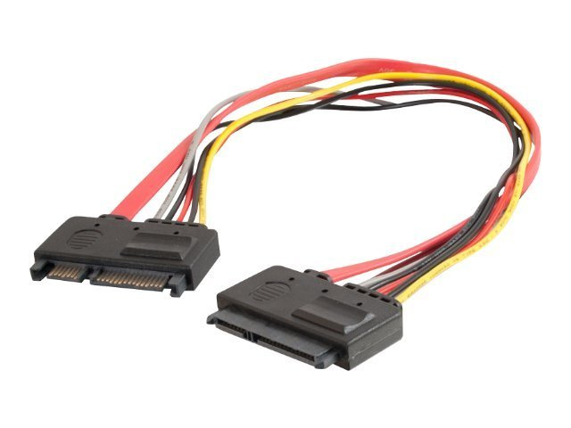 C2G SATA Extension Cable, 22-pin, 12, 10256, 13394395, Cables