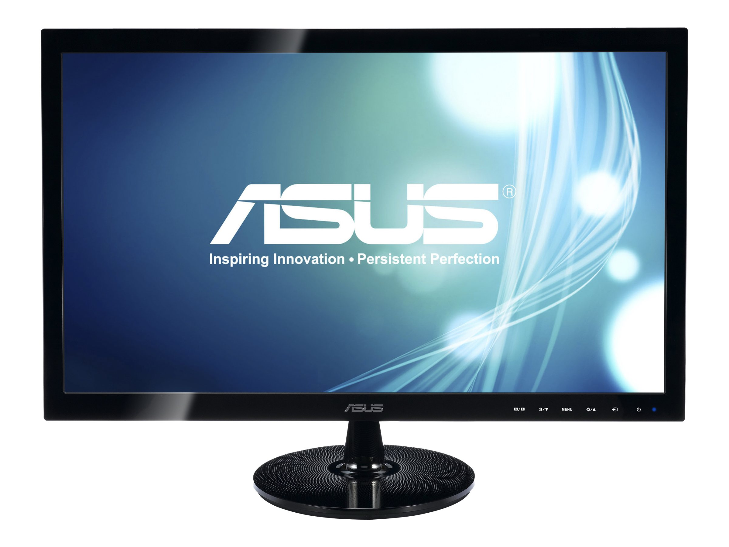Asus 20 VS207D-P LED-LCD Monitor, Black, VS207D-P, 15309115, Monitors - LED-LCD