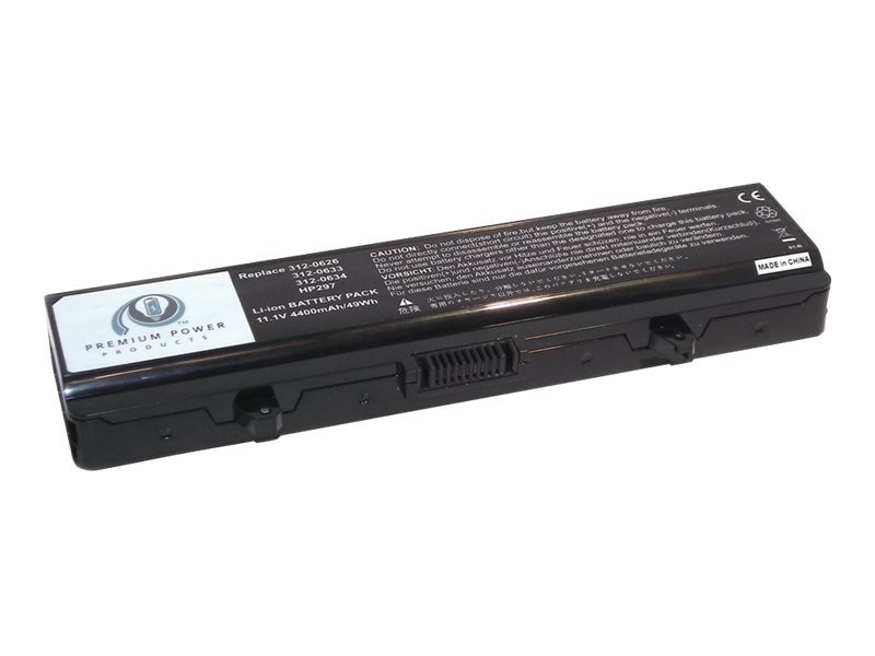 Ereplacements Laptop battery for Dell Inspiron 1525, Inspiron 1526, Inspiron 1545. 312-0625, 312-0763