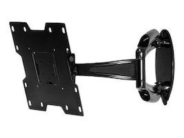 Peerless Articulating LCD Wall Arm for 22-40 Displays, Black, SA740P, 5881020, Stands & Mounts - AV