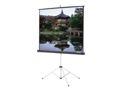 Da-Lite Carpeted Licture King Projection Screen with Keystone Eliminator, High Power, 4:3, 120, 77775, 11647504, Projector Screens