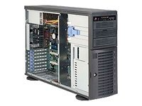 Supermicro Chassis, 465W Low Noise PS, Black, CSE-743I-465B, 8145992, Cases - Systems/Servers