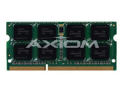 Axiom 8GB PC3-10600 DDR3 SDRAM SODIMM, TAA, AXG50893639/1, 16336140, Memory