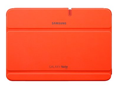 Samsung Book Cover for Galaxy Note 10.1, Orange, EFC-1G2NOECXAR, 15497232, Carrying Cases - Tablets & eReaders