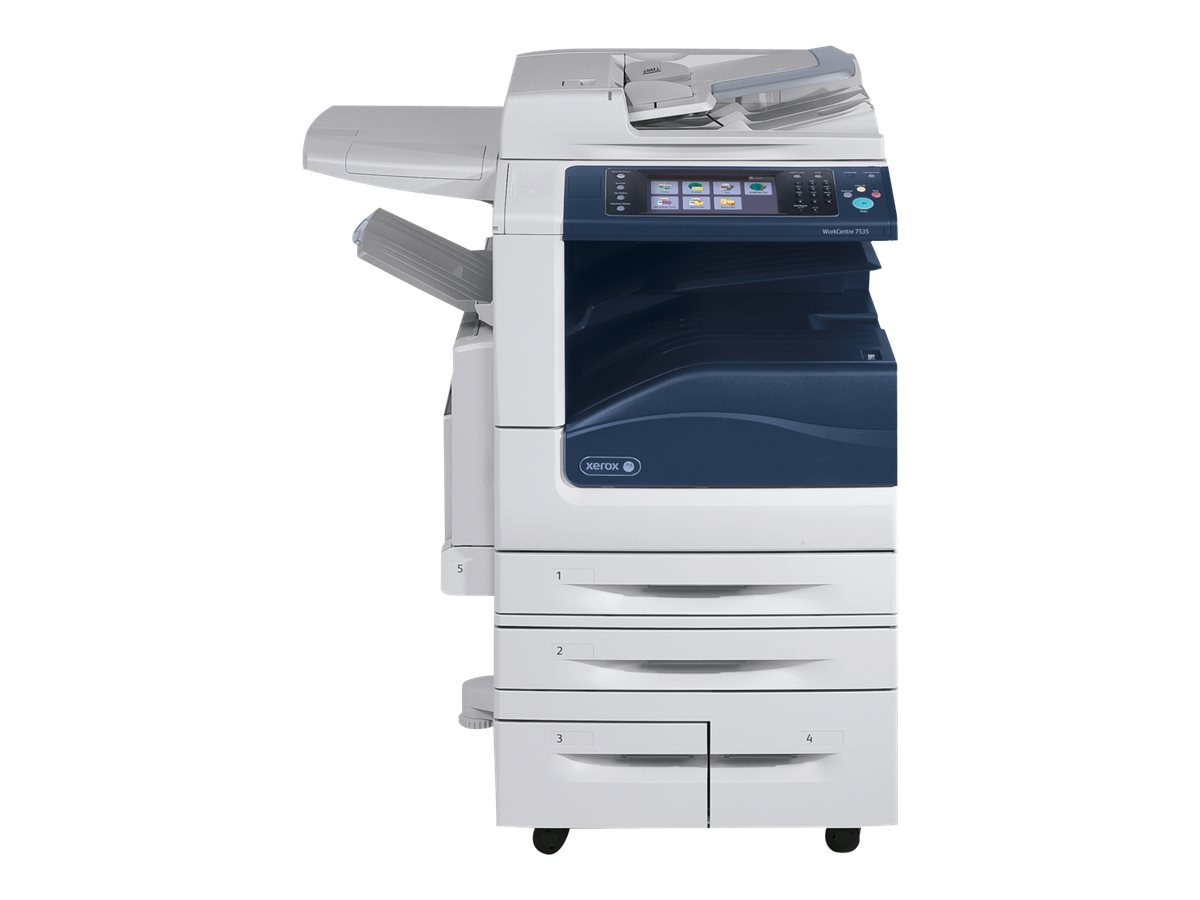 Xerox WC7535 Multifunction Printer w  (3) Trays, W7535/3T, 26691381, MultiFunction - Laser (color)