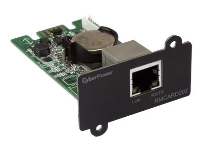 CyberPower Remote Management Card Secure HTTP SNMP RJ-45 Internal, RMCARD202, 12453007, Battery Backup Accessories