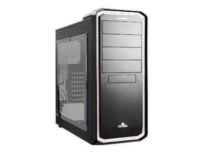 Enermax Chassis, Ostrog Tower ATX 6x3.5 Bays 7xSlots, Black and White