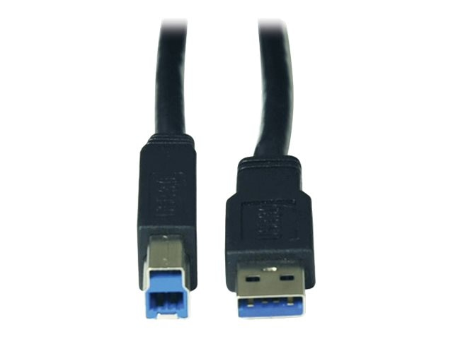 Tripp Lite SuperSpeed USB 3.0 A B Active Device Cable, 36ft, Instant Rebate - Save $8, U328-036