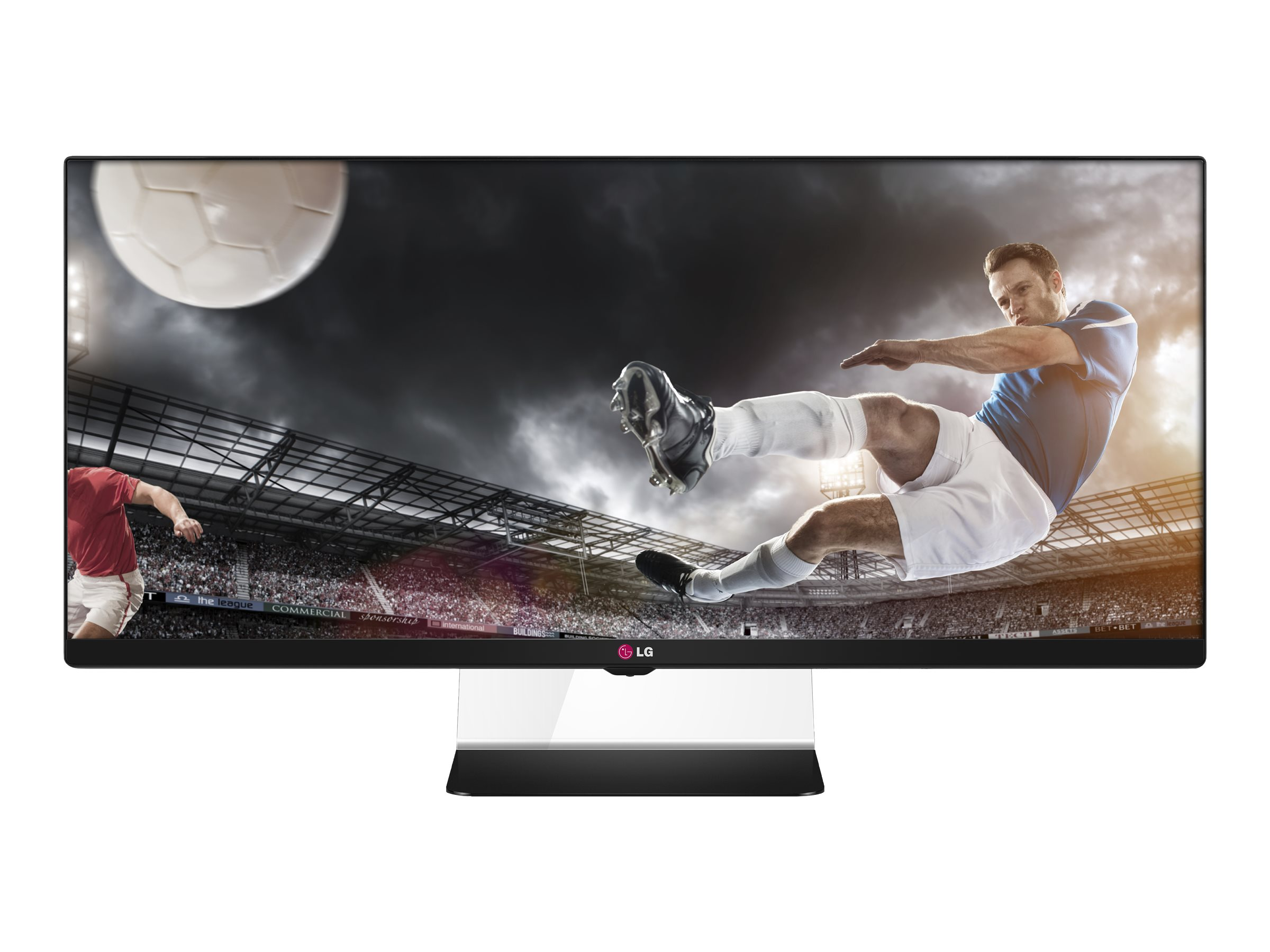 LG 34 UM64-P Full HD LED-LCD Ultrawide Monitor, Black