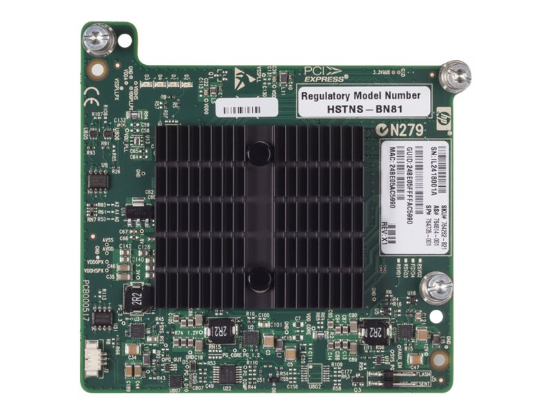 HPE InfiniBand QDR Ethernet 10Gb 2-port 544+M Adapter, 764282-B21, 18742029, Network Adapters & NICs