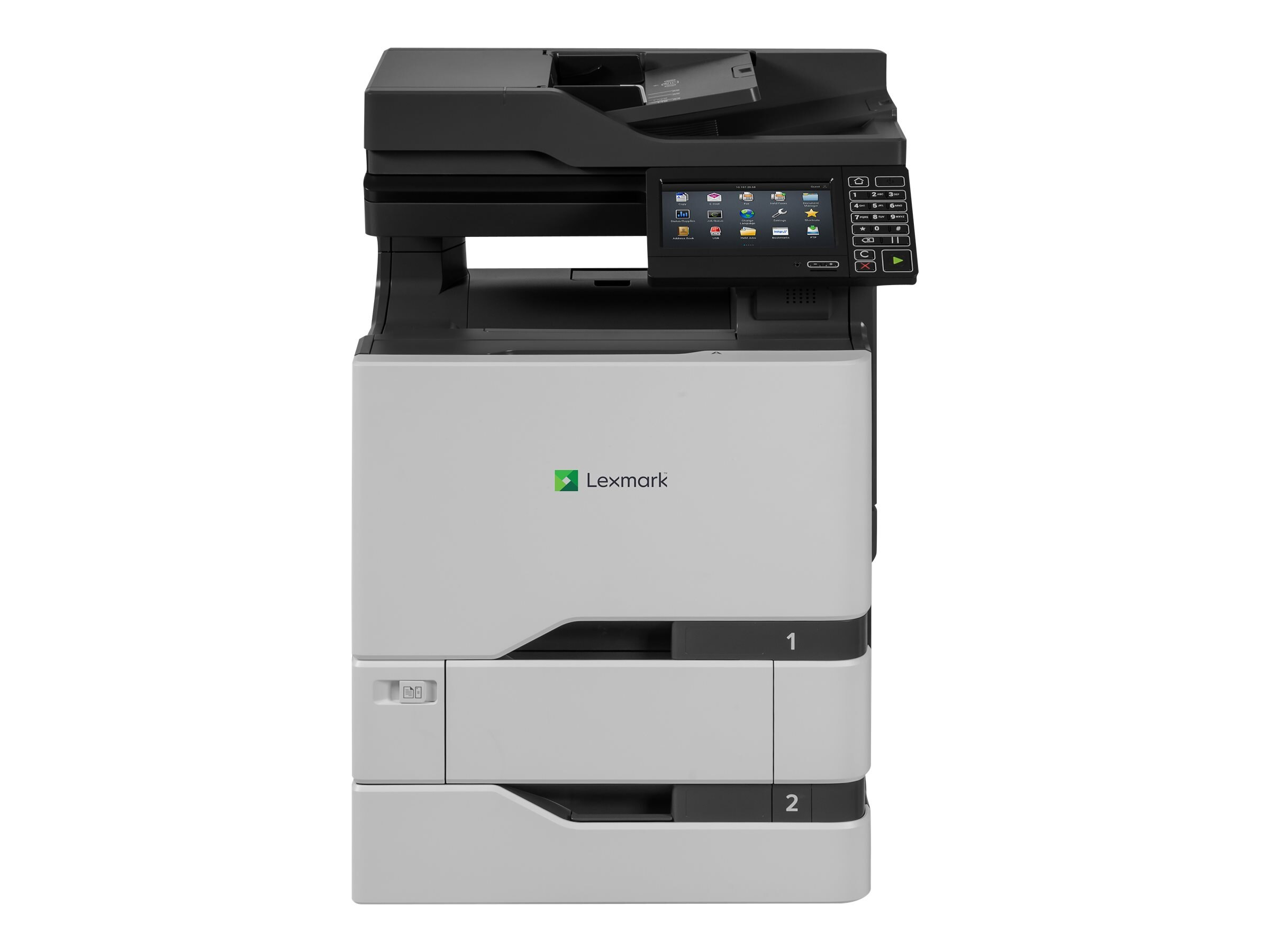 Lexmark CS720dte Color Laser Printer (TAA Compliant), 40CT119