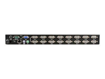 StarTech.com 16-Port Enhanced KVM Switch over IP, SV1641HDIE
