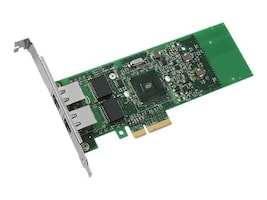 Intel Gigabit Ethernet Dual Port Server Adapter OEM Single, E1G42ETBLK-1PK, 9655054, Network Adapters & NICs