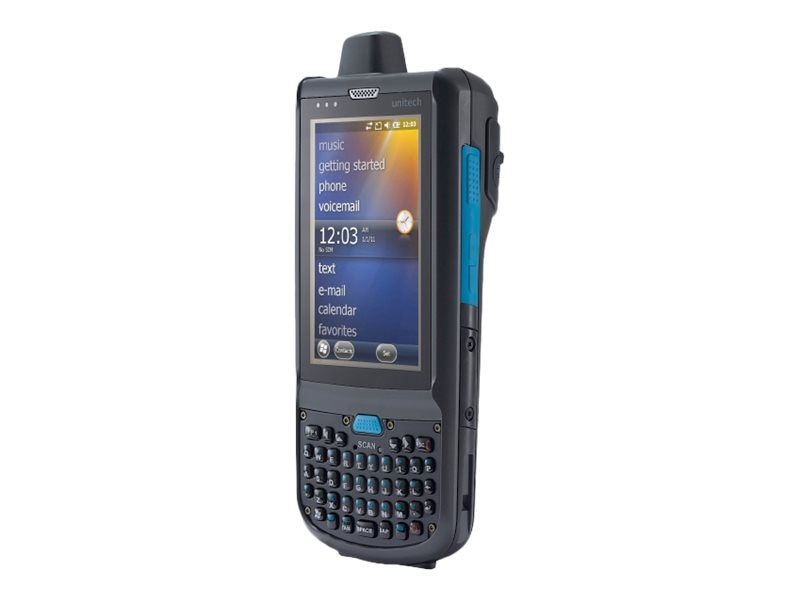 Unitech PA692 Mobile Computer, 2d Imager, Qwerty Keypad, WiFi, Bluetooth, GPS, GPRS, PA692-H8F2QMDG