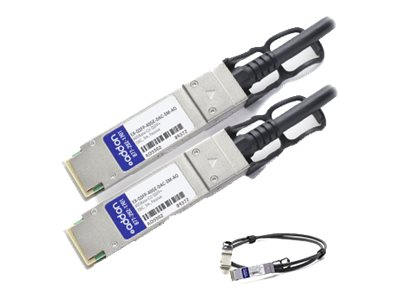 ACP-EP 40GBase-CU QSFP+ to QSFP+ Direct Attach Passive Twinax Cable, 3m