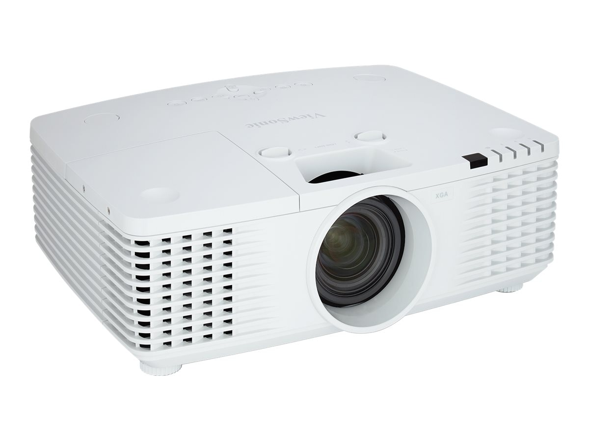 ViewSonic PRO9510L XGA DLP Projector with Dual Speakers, 6200 Lumens, White, PRO9510L