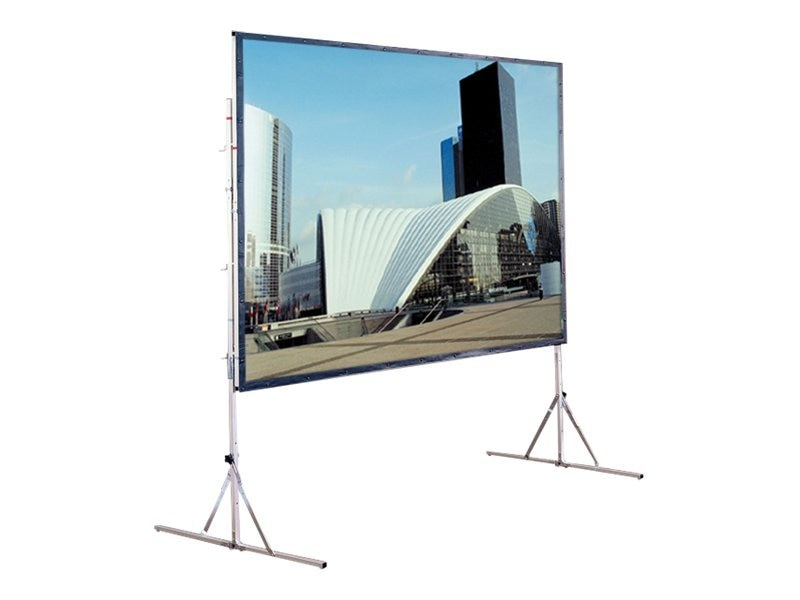 Draper Cinefold Projection Screen with Heavy Duty Legs, 6x8ft, 218087, 9533170, Projector Screens