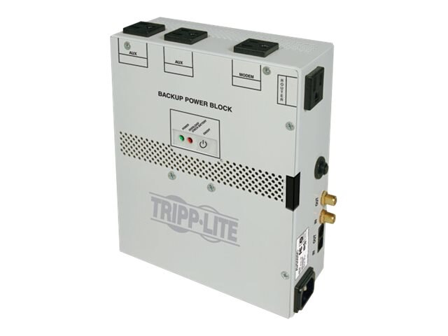 Tripp Lite Audio Video Backup Power Block 550VA UPS Protection for Structured Wiring Enclosure