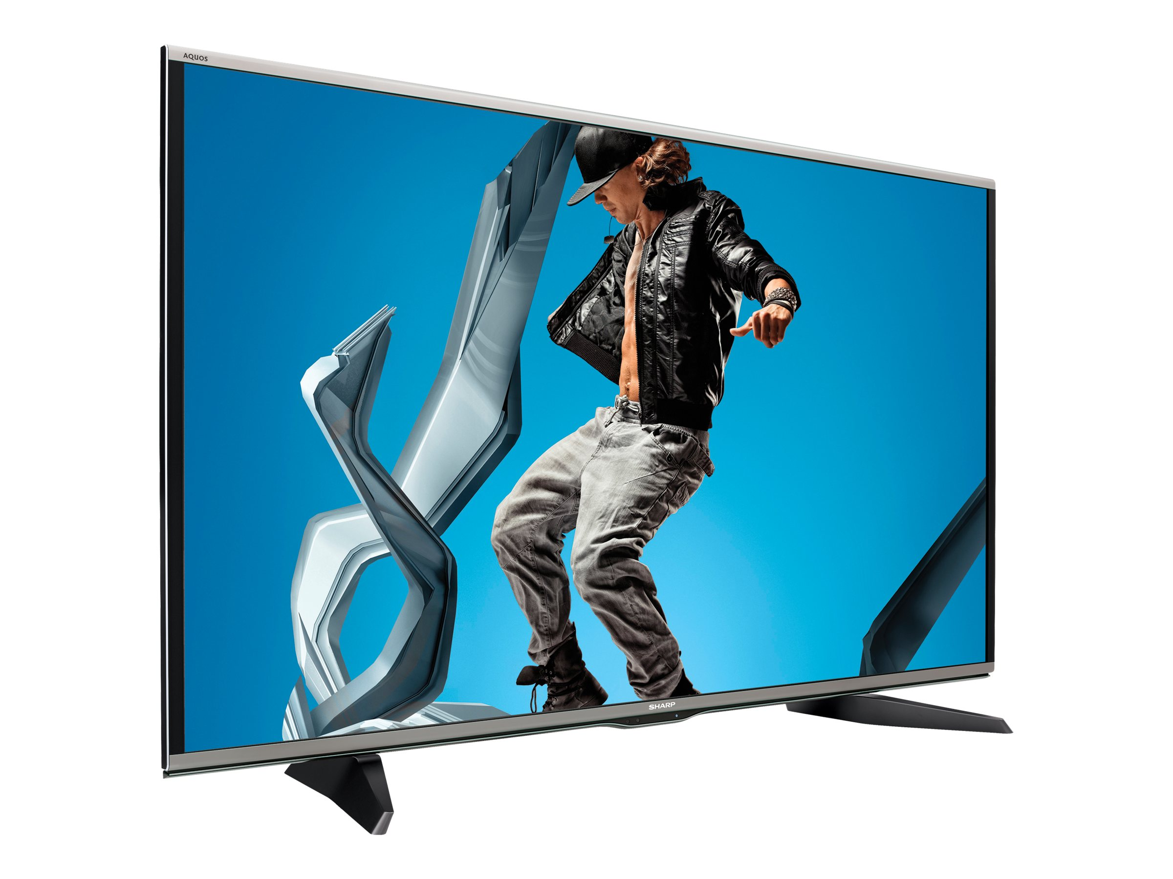 Sharp 60 LC60UQ17U Full HD LED-LCD 3D TV, Black, LC60UQ17U, 17530999, Televisions - LED-LCD Consumer