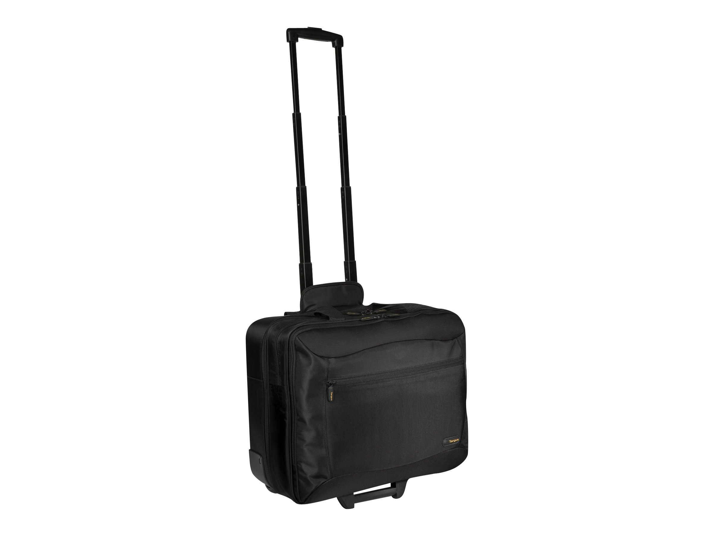 Targus 17 Rolling Travel Notebook Case, Black, 840D Nylon, TCG717