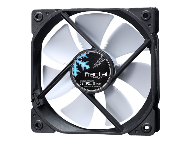 Fractal Design Dynamic GP-12 120mm Fan, White, FD-FAN-DYN-GP12-WT