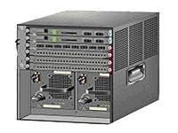 Cisco Catalyst Chassis with Fan Tray, SUP2T-IP Service and VSS, VS-C6506E-SUP2T, 13115579, Network Switches