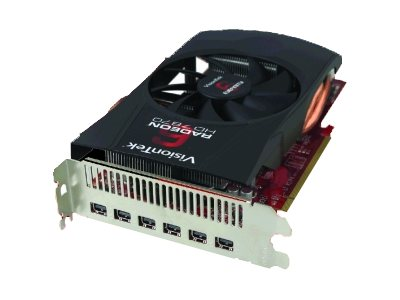 VisionTek Radeon HD 7870 PCIe 3.0 x16 Graphics Card, 2GB GDDR5, 900548