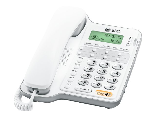 AT&T Corded Telephone with Caller ID Call Waiting, 2909, 11215841, Telephones - Consumer