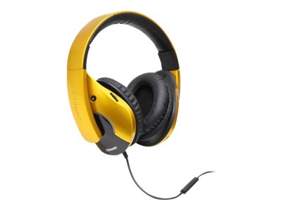 Syba OBLANC Shell210 Headphones w  Mic - Gold