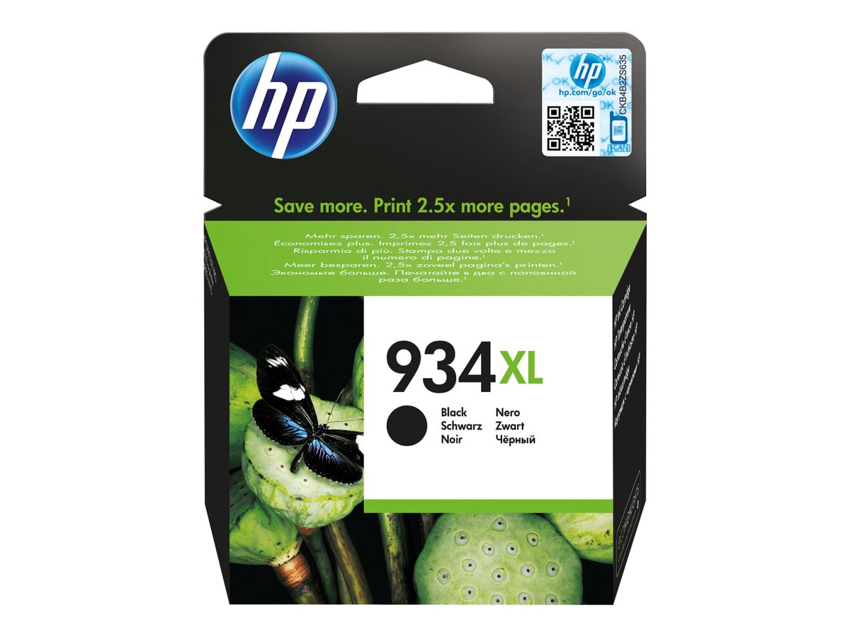 HP 934XL (C2P23AN) High Yield Black Original Ink Cartridge