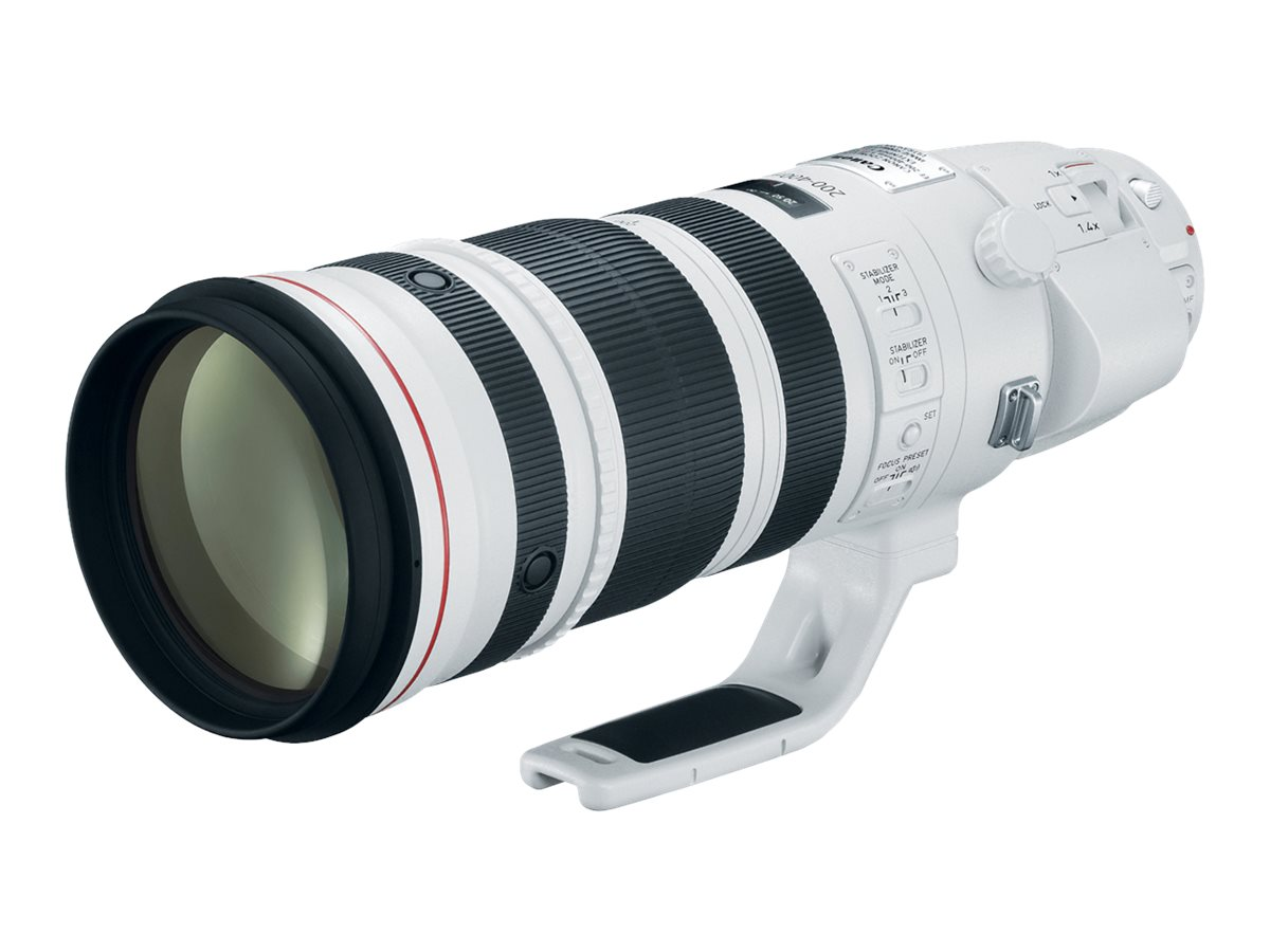 Canon EF 200-400mm f 4L IS USM Lens with Internal 1.4x Extender