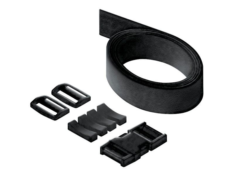 Ergotron Zido Strap and Buckle Kit, Black, ZSTRBK