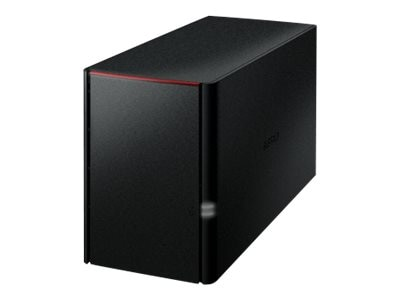 BUFFALO 4TB LinkStation 220 Dual Drive Personal Cloud Storage, LS220D0402, 17283932, Network Attached Storage