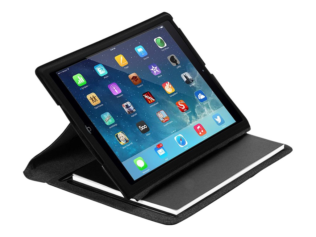 Targus Notepad Folio for iPad Air 5th Generation 9.7, Noir Black, THZ187US