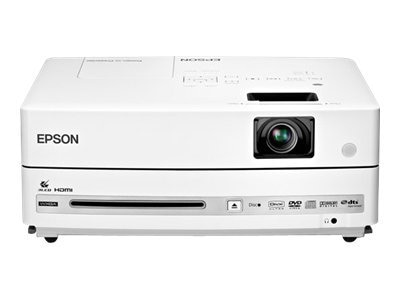 Epson PowerLite Presenter 3LCD Projector with DVD Player and Speakers, 2500 Lumens, V11H335120