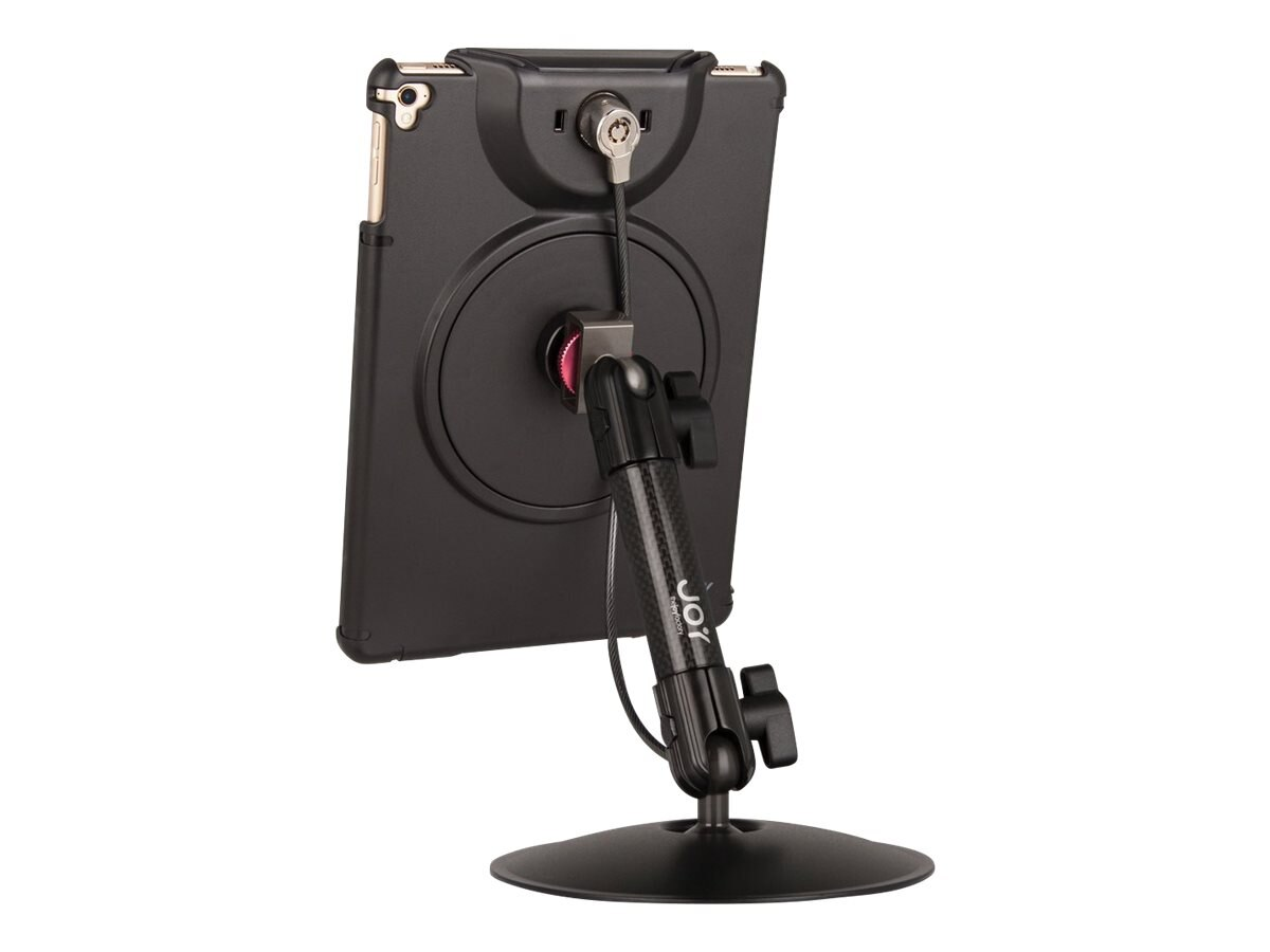 Joy Factory MagConnect Desk Stand Mount with LockDown for iPad 9.7, Pro 9.7, Air 2 (Cable Lock Included)