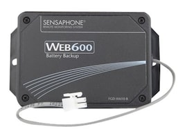 Sensaphone External Battery Backup Module for Web600 Web-based Security Monitor, FGD-W610-B, 12587056, Batteries - Other