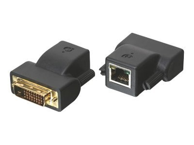 IOGEAR DVI-D CAT5e 6 MiniExtender, GVE200, 9004788, Video Extenders & Splitters