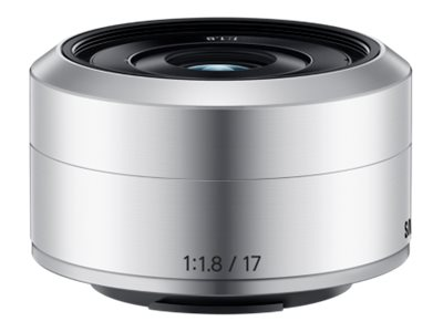 Samsung NX-M 17mm f 1.8 OIS Lens, Silver, EX-YN17ZZZASUS, 18743785, Camera & Camcorder Lenses & Filters
