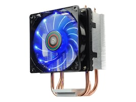 Enermax ETS-N30R-TAA CPU Cooler 9cm LED Fan, Blue, ETS-N30R-TAA, 31506637, Cooling Systems/Fans