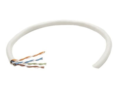 Intellinet Bulk CAT5E Solid Cable, Gray, 1000ft