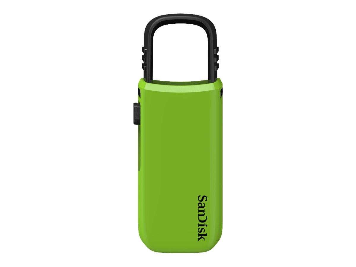 SanDisk 8GB Cruzer U Flash Drive, Green