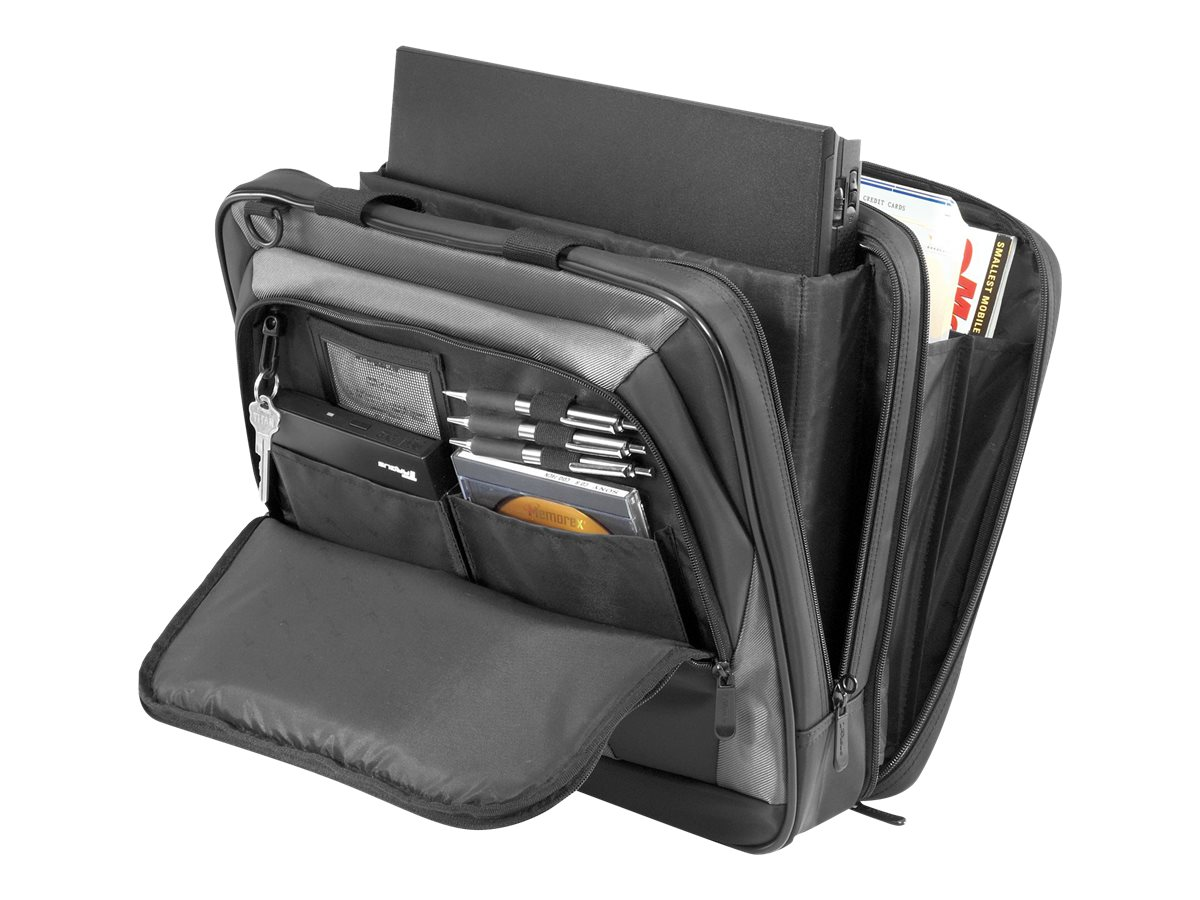 Targus CityLite Laptop Case, Black Gray