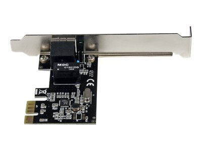 StarTech.com 1 Port PCI Express PCIe Gigabit Network Server Adapter NIC Card, ST1000SPEX2
