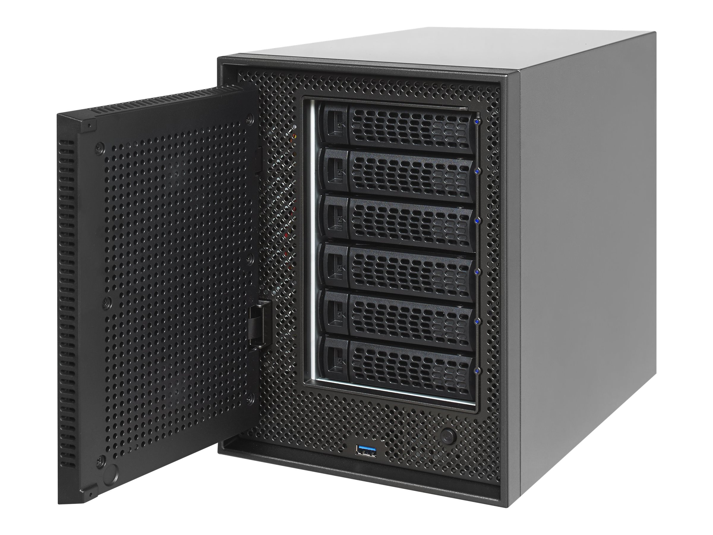 Netgear ReadyNAS 626X 6-Bay Network Storage w  Xeon Quad-Core Server Processor & 6X6TB Hard Drives, RN626XE6-100NES