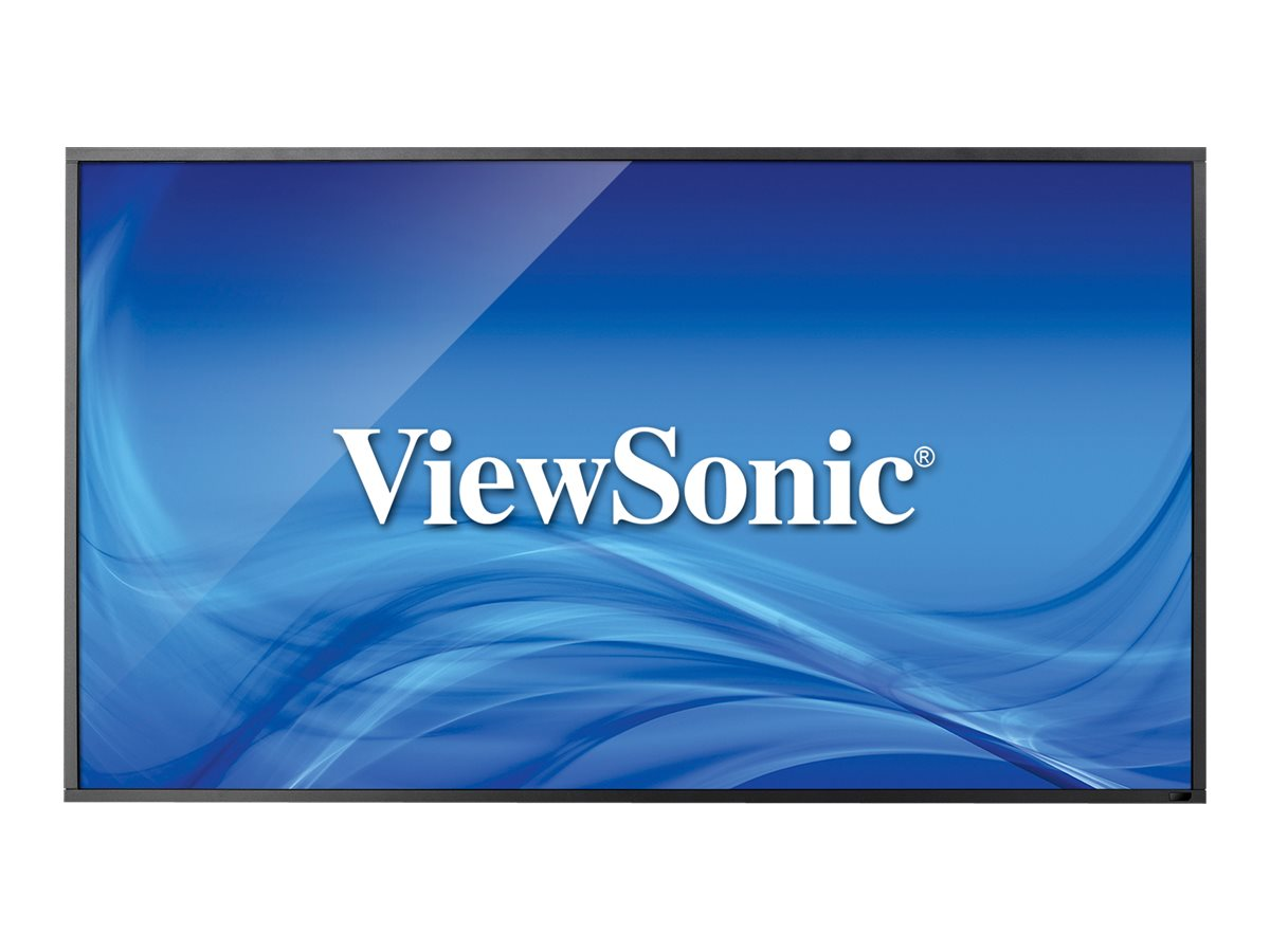 ViewSonic 55 CDP5560-TL Full HD LED-LCD Touchscreen Display, Black, CDP5560-TL, 17797642, Monitors - Large-Format LED-LCD