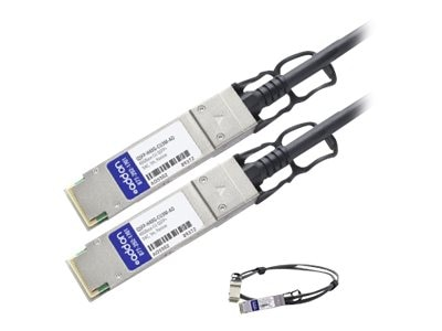 ACP-EP 40Gbase CR4 QSFP+ Direct Attach Passive Copper Cable, 3m, QSFP-H40G-CU3M-AO