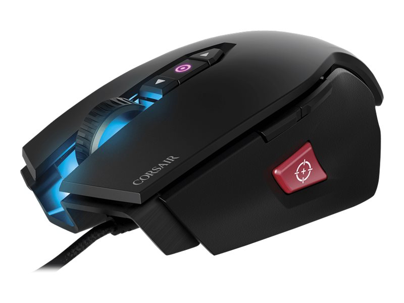 Corsair Gaming M65 Pro RGB FPS Gaming Mouse Backlit RGB LED 12000dpi Optical, CH-9300011-NA